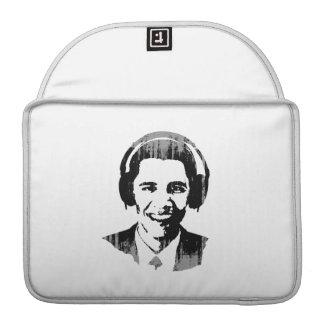 Barack Obama headphones Vintage.png MacBook Pro Sleeve