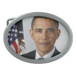 Barack Obama Hebillas De Cinturón Ovales