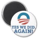 Barack Obama hicimos sí otra vez (el blanco) Iman