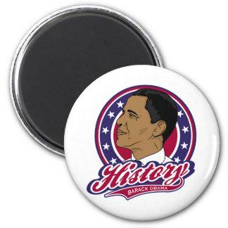Barack Obama History Fridge Magnets