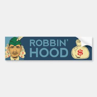 Barack Obama Hood Robin Hood Bumper Sticker