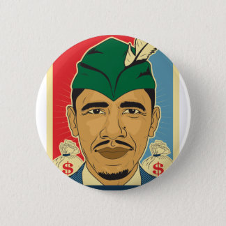 Barack Obama Hood Robin Hood Button Barrack Obama.