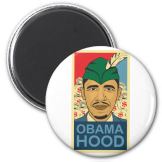 Barack Obama Hood Robin Hood Button Barrack Obama. Magnet