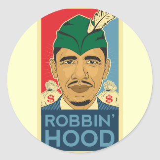 Barack Obama Hood Robin Hood Sticker Barrack Obama