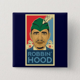 Barack Obama Hood Robin Hood Tee! Barrack Button