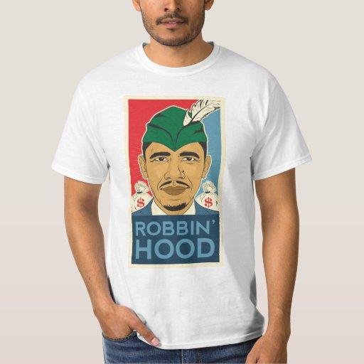 Barack Obama Hood Robin Hood Tee! Barrack Obama. T Shirt