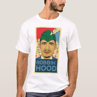 Barack Obama Hood Robin Hood Tee! Barrack Obama. T-Shirt
