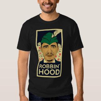 "Barack Obama Hood ""Robin Hood"" Tee! Shirts"