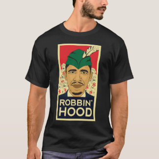 "Barack Obama Hood ""Robin Hood"" Tee! T-Shirt"