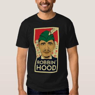 """Barack Obama Hood """"Robin Hood"""" Tee! Tee Shirts"""
