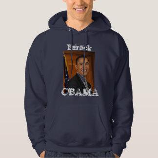 "Barack, OBAMA  Hoody. ""Yes We Can"" Sweatshirt"