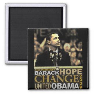 Barack Obama Hope 2 Inch Square Magnet