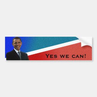 Barack Obama HOPE Car Bumper Sticker