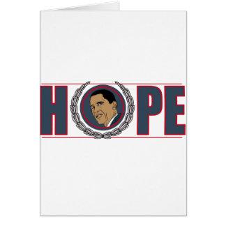 Barack Obama Hope Card