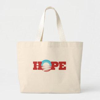 Barack Obama Hope Logo Bag