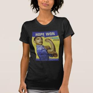 Barack Obama - HOPE WON - Customizable T-Shirt