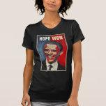Barack Obama -  HOPE WON T Shirts