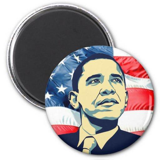 Barack Obama Imán Redondo 5 Cm
