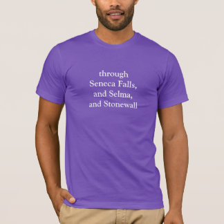 Barack Obama Inaugural LGBT Mention T-Shirt