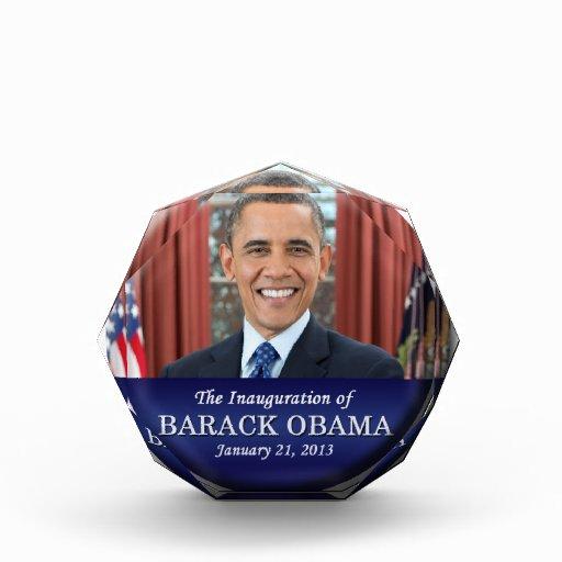 Barack Obama Inauguration 2013 Award