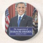 Barack Obama Inauguration 2013 Beverage Coasters