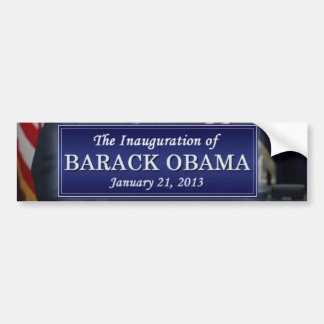 Barack Obama Inauguration 2013 Bumper Stickers
