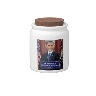Barack Obama Inauguration 2013 Candy Jar