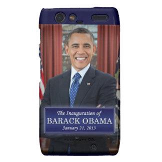 Barack Obama Inauguration 2013 Motorola Droid RAZR Cover