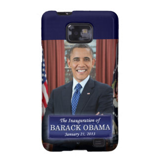 Barack Obama Inauguration 2013 Samsung Galaxy S2 Cases