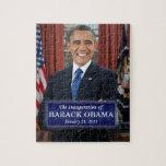 "Barack Obama Inauguration 2013 Jigsaw Puzzle<br><div class=""desc"">Barack Obama Presidential Inauguration 2013</div>"