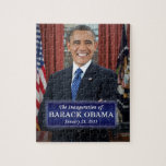 "Barack Obama Inauguration 2013 Jigsaw Puzzle<br><div class=""desc"">Barack Obama Presidential Inauguration 2013</div>"