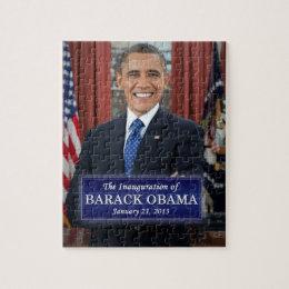 Barack Obama Inauguration 2013 Jigsaw Puzzle
