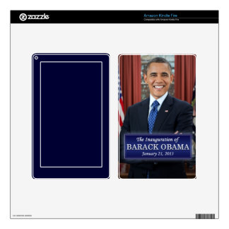 Barack Obama Inauguration 2013 Kindle Fire Decal