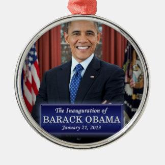 Barack Obama Inauguration 2013 Metal Ornament