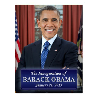 Barack Obama Inauguration 2013 Postcard