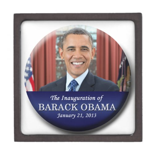 Barack Obama Inauguration 2013 Premium Gift Box