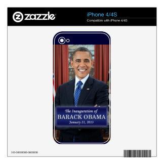 Barack Obama Inauguration 2013 Skins For The iPhone 4