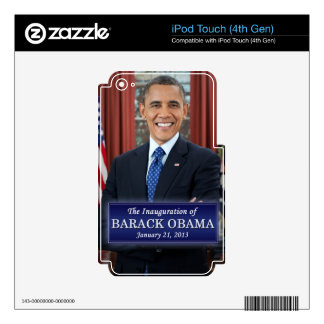 Barack Obama Inauguration 2013 Decal For iPod Touch 4G