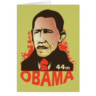 Barack Obama - inauguration Card
