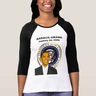 Barack Obama Inauguration Day Ladies T-shirt
