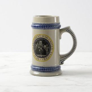 Barack Obama Inauguration Keepsake 18 Oz Beer Stein