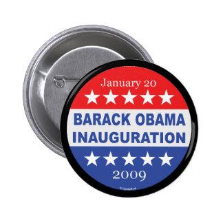Barack Obama Inauguration Pinback Buttons