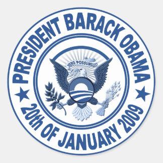Barack Obama Inauguration Presidential Seal Sticker