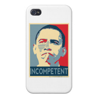 Barack Obama - Incompetent iPhone 4/4S Cases