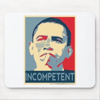 Barack Obama - Incompetent Mouse Pad