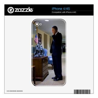 Barack Obama iPhone 4 Decal