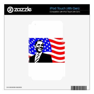 barack-obama- iPod touch 4G skins
