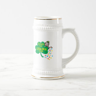 Barack Obama Irish St. Patrick's Day Beer Stein