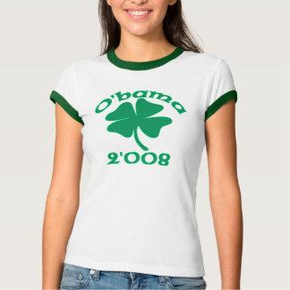 Barack Obama Irish T-shirt O'bama