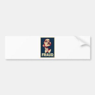 Barack Obama is a Fraud Car Bumper Sticker